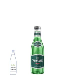 Cisowianka Classic w butelkach szklanych