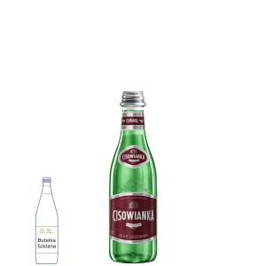 Cisowianka Gazowana w butelkach szklanych