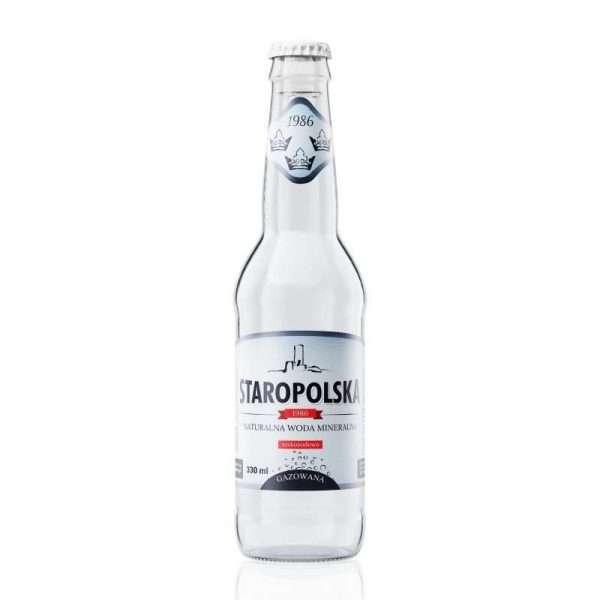Staropolska Premium Twist-OFF 0,33L gazowana [24 szt.]
